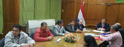 El Señor Intendente Francisco Morales E Intendentes De Otras Localidades Realizando Gestiones Con El Señor …