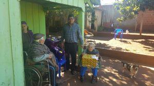El Señor Intendente Municipal Francisco Morales Visitando A Ex Combatientes El Dia De Hoy Y ...