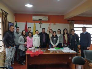 Importante Reunión Hoy Con Nuestros Jóvenes Estudiantes.