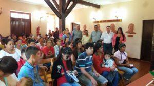 Son 77 Los Benedicifiados En Hohenau De Del Programa Tekoporã